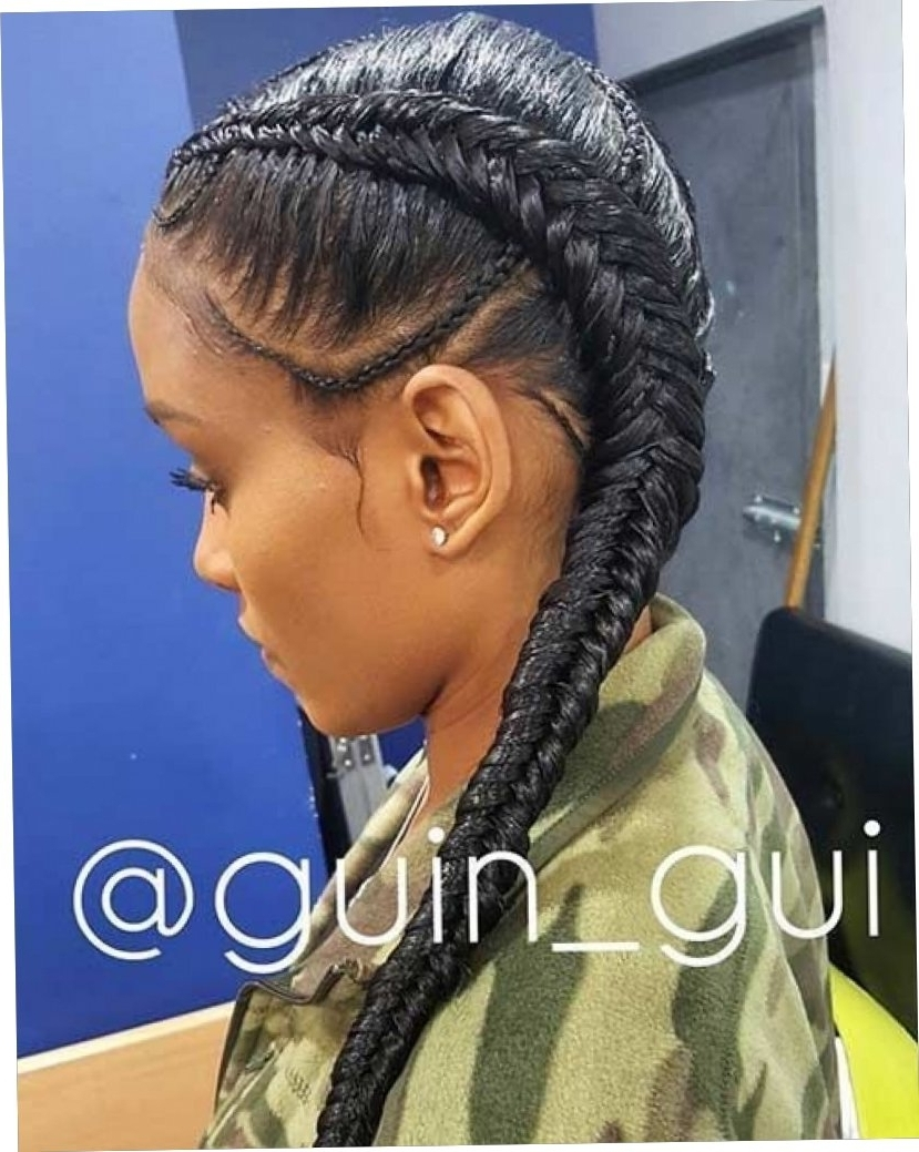 Most Current Two Cornrows Hairstyles In 18+ Haircut Two Cornrow Hairstyles 2018 – Straightuphairstyle (View 9 of 15)