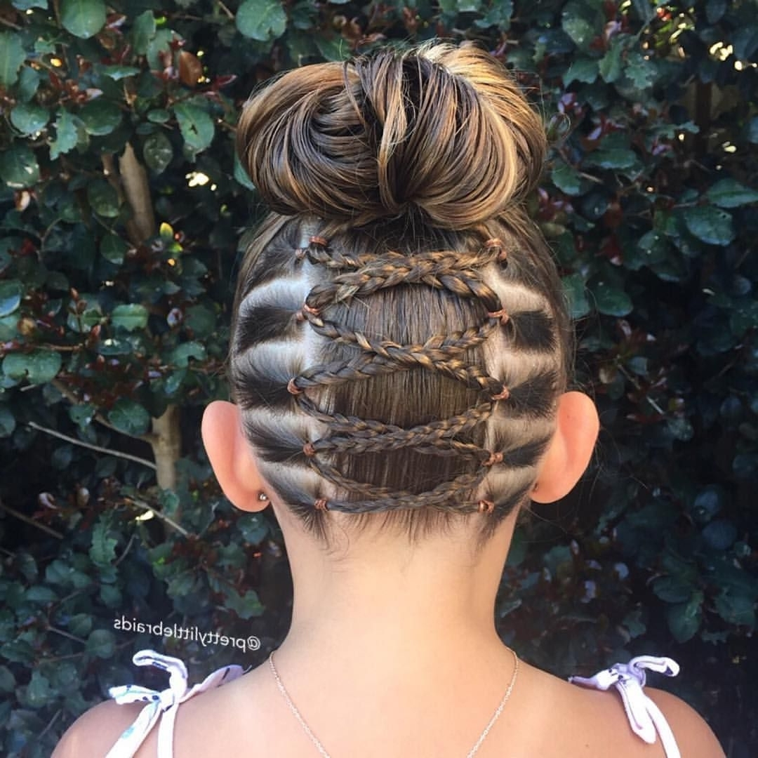 Most Current Upside Down Braids Into Messy Bun Regarding 2,445 Likes, 54 Comments – Braider: Shelley (@prettylittlebraids) On (View 10 of 15)