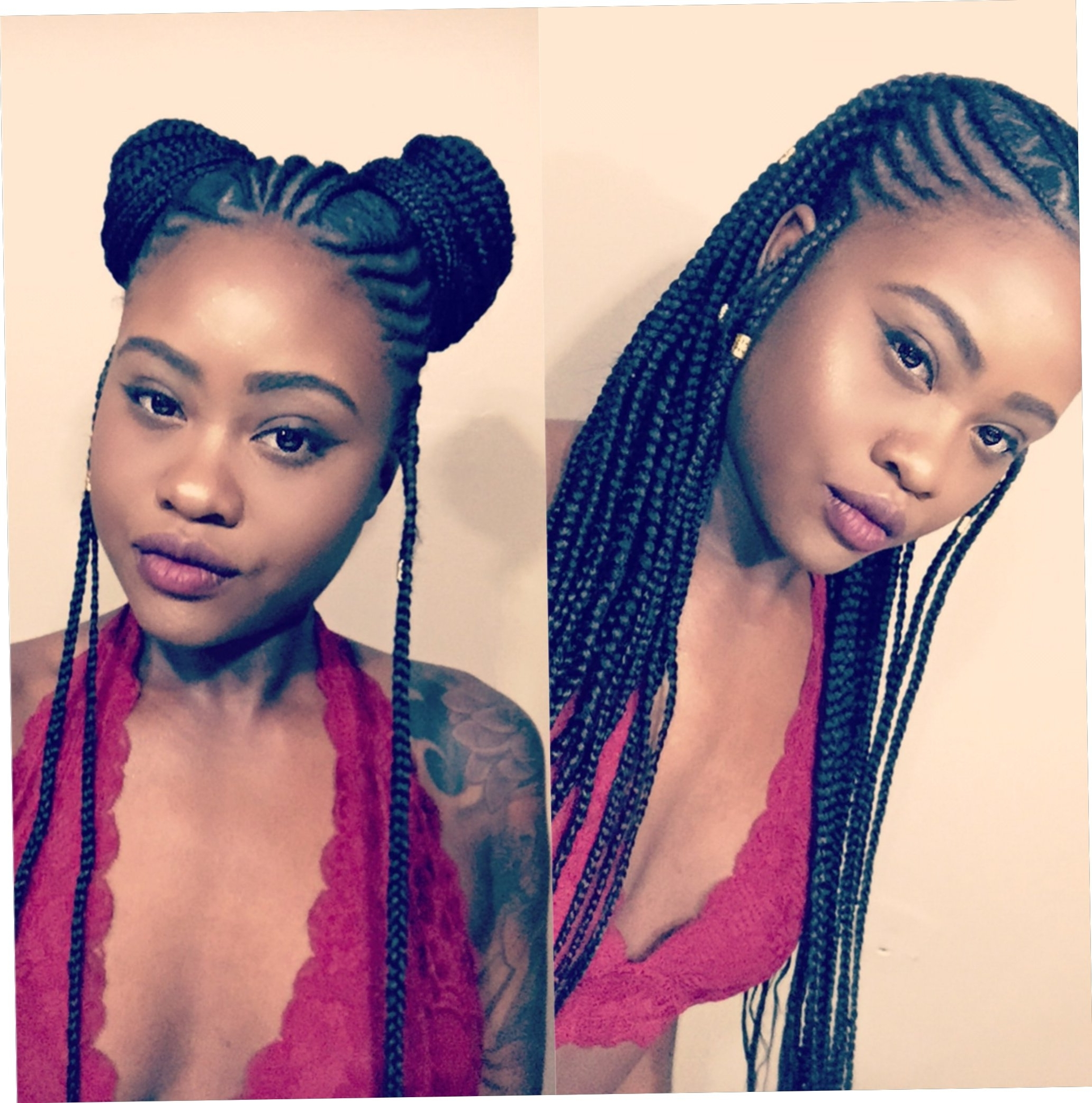 Most Popular Cornrows Hairstyles That Cover Forehead With 22+ Hair Ideas Cornrow Hairstyles For Big Foreheads (View 7 of 15)
