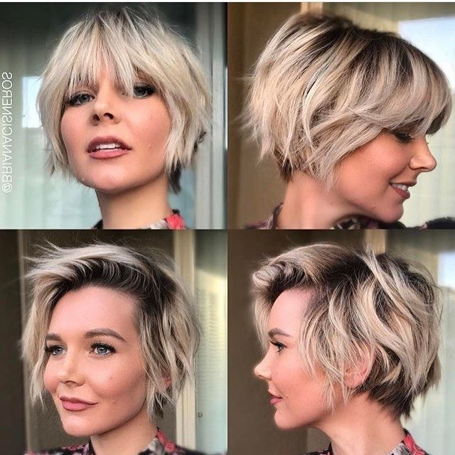 Most Popular Growing Out Pixie Haircuts For Curly Hair With 40 Hottest Short Wavy, Curly Pixie Haircuts 2018 – Pixie Cuts For (View 9 of 15)