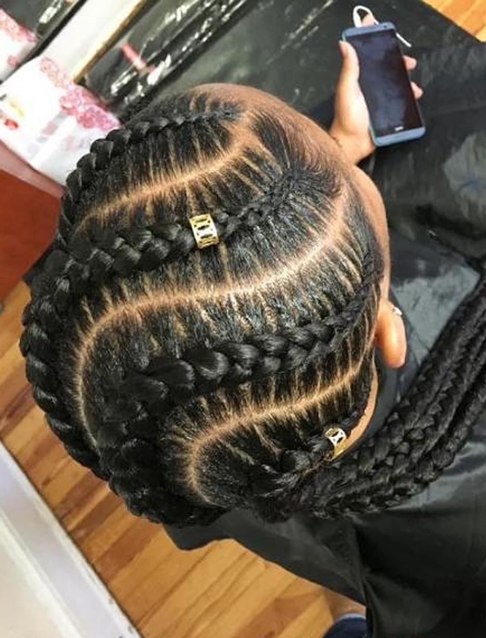 Most Popular Long Curvy Braids Hairstyles For 20 Best African American Braided Hairstyles For Women 2017  (View 12 of 15)