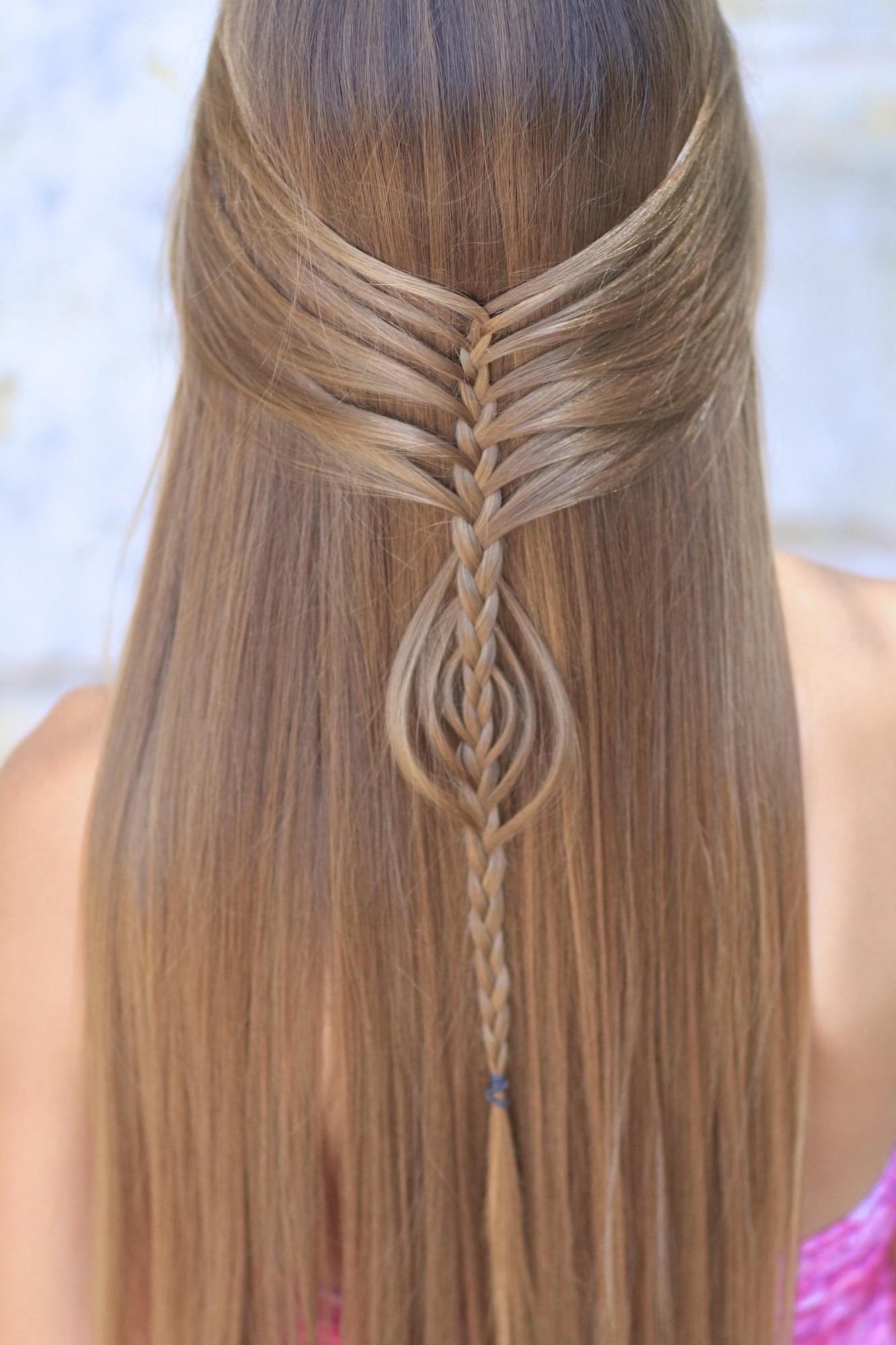 Most Popular Mermaid Braid Hairstyles With Mermaid Braid Combo (View 12 of 15)