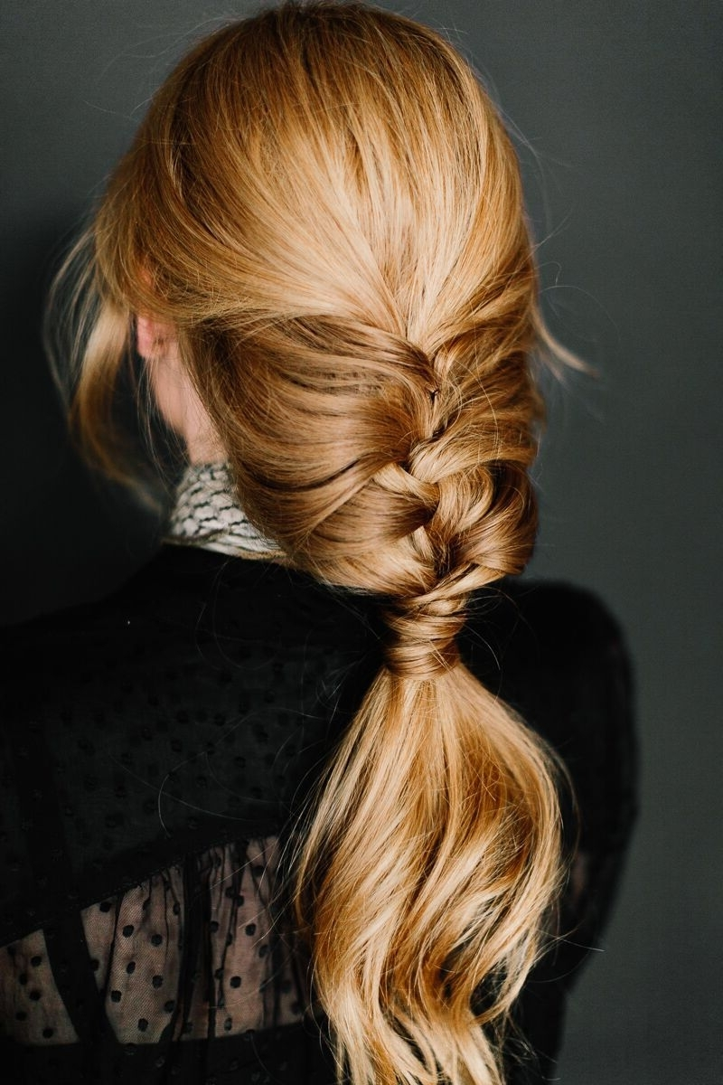 Most Popular Pair Of Braids With Wrapped Ponytail Intended For Pinarvo On Hair Envy (View 2 of 15)