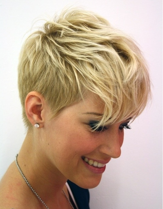 Most Popular Sassy Pixie For Fine Hair With Pixie Cut – Gallery Of Most Popular Short Pixie Haircut For Women (View 11 of 15)