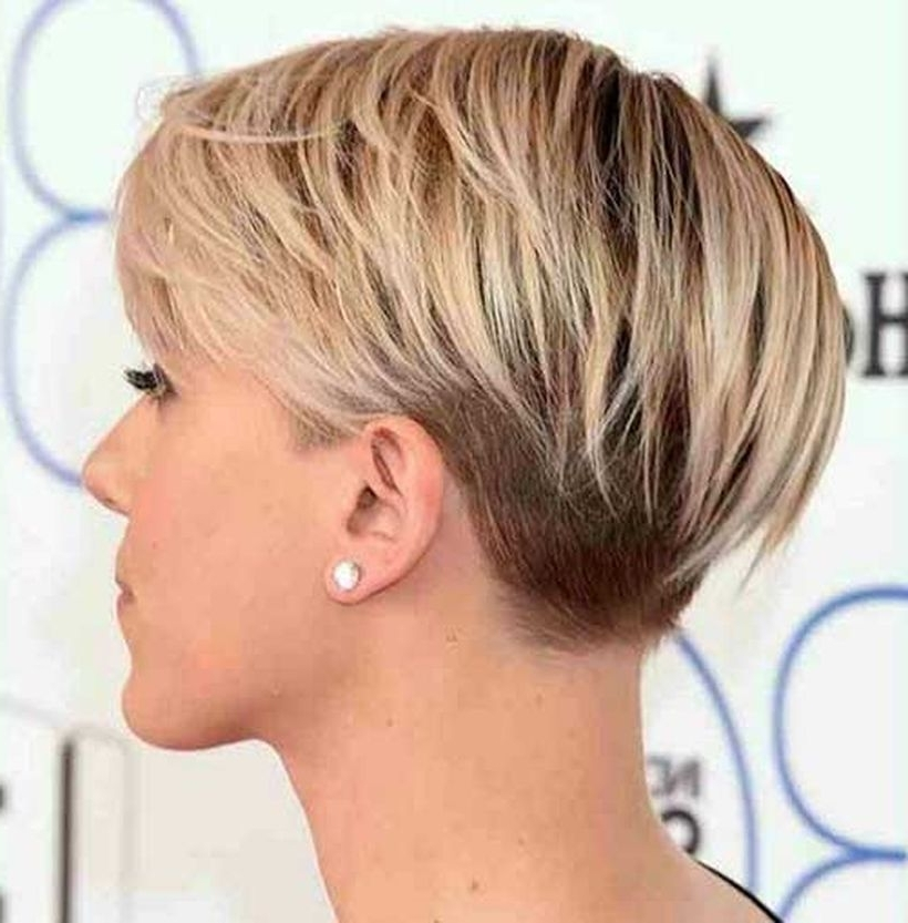 Most Popular Undercut Pixie Intended For Cool Back View Undercut Pixie Haircut Hairstyle Ideas 39 – Fashion Best (View 7 of 15)