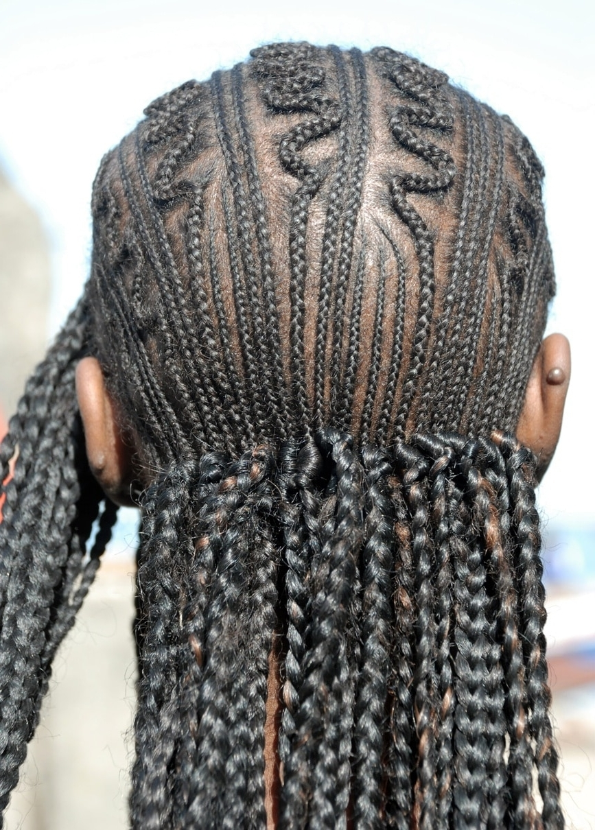 Most Popular Zig Zag Braided Hairstyles Pertaining To African Braids: 10 Traditional Braided Styles To Try Now (View 6 of 15)