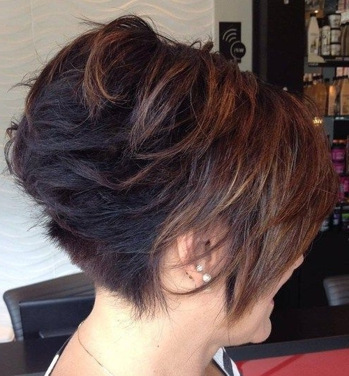 Most Recent Angled Pixie Bob Haircuts With Layers Regarding 40 Short Bob Hairstyles Layered Stacked Wavy And Angled Bob Cuts (View 8 of 15)
