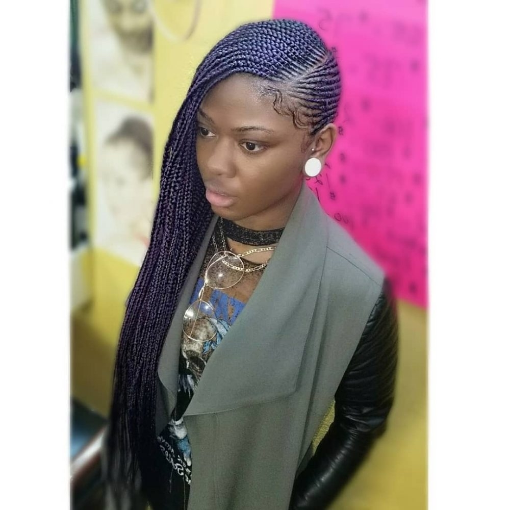 Most Recent Cornrow Hairstyles For Graduation Regarding 23 Amazing Prom Hairstyles For Black Girls And Young Women (View 10 of 15)