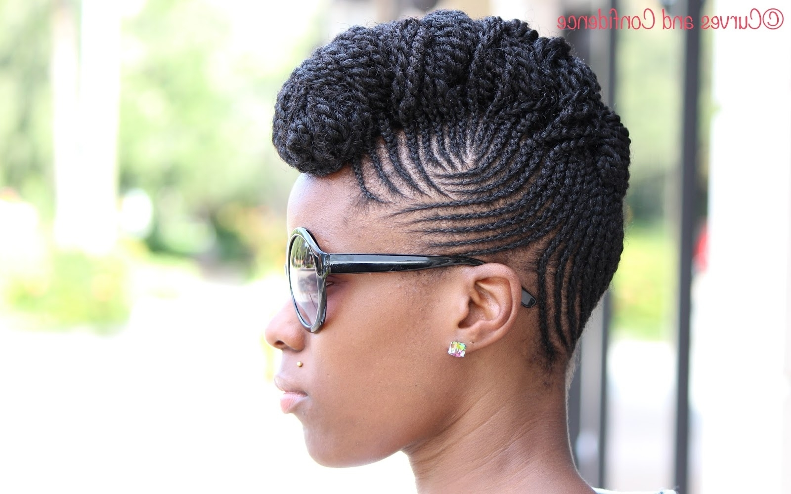Most Recent Cornrows Upstyle Hairstyles Intended For Micro Braids Updo Hairstyles Micro Braids Updo Hairstyles Hairstyles (View 2 of 15)