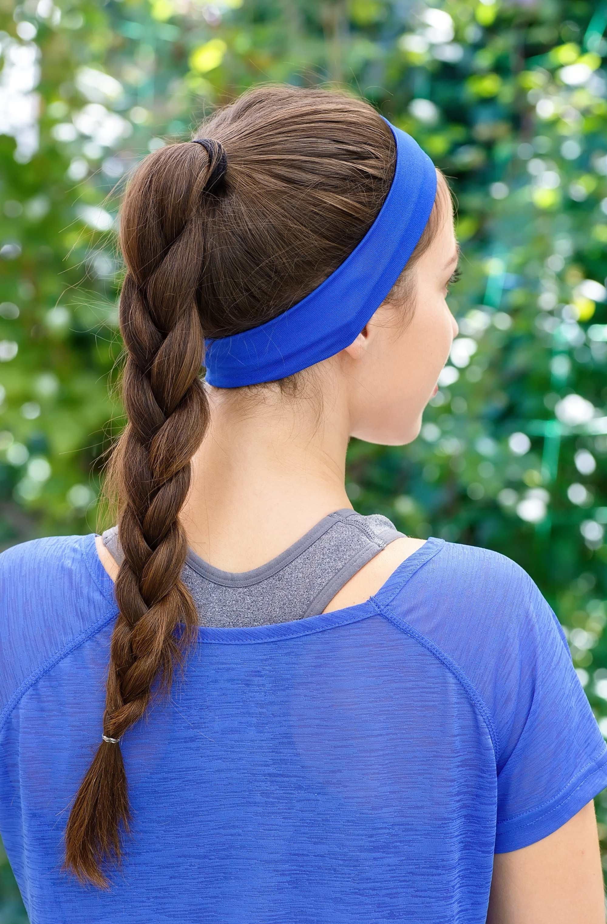 Most Recent Ponytail Braids With Quirky Hair Accessory For Braided Ponytail: How To Create This Easy Hairstyle For The Gym (View 7 of 15)