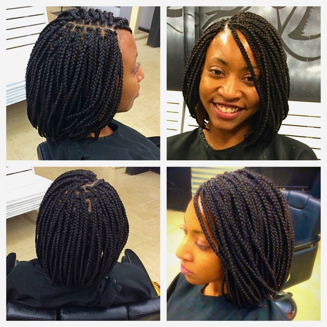 Most Recent Short Braided Hairstyles Throughout Braid Hairstyles : Black Short Braids Hairstyles Collection At Best (View 10 of 15)