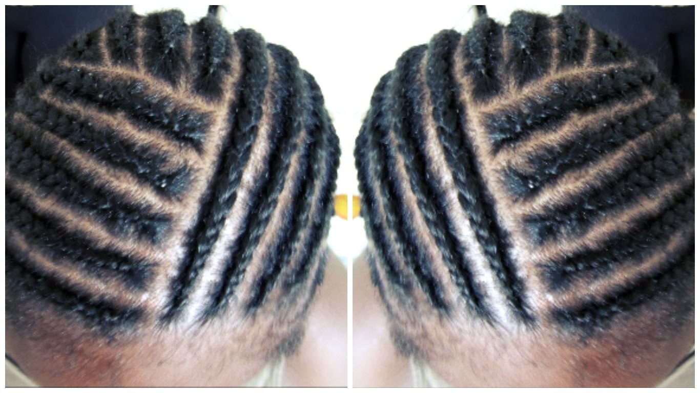 Most Recently Released Cornrows Hairstyles Without Weave With Regard To Braid Cornrow Pattern For Full Head Weave With Closure No Leave Out (View 8 of 15)