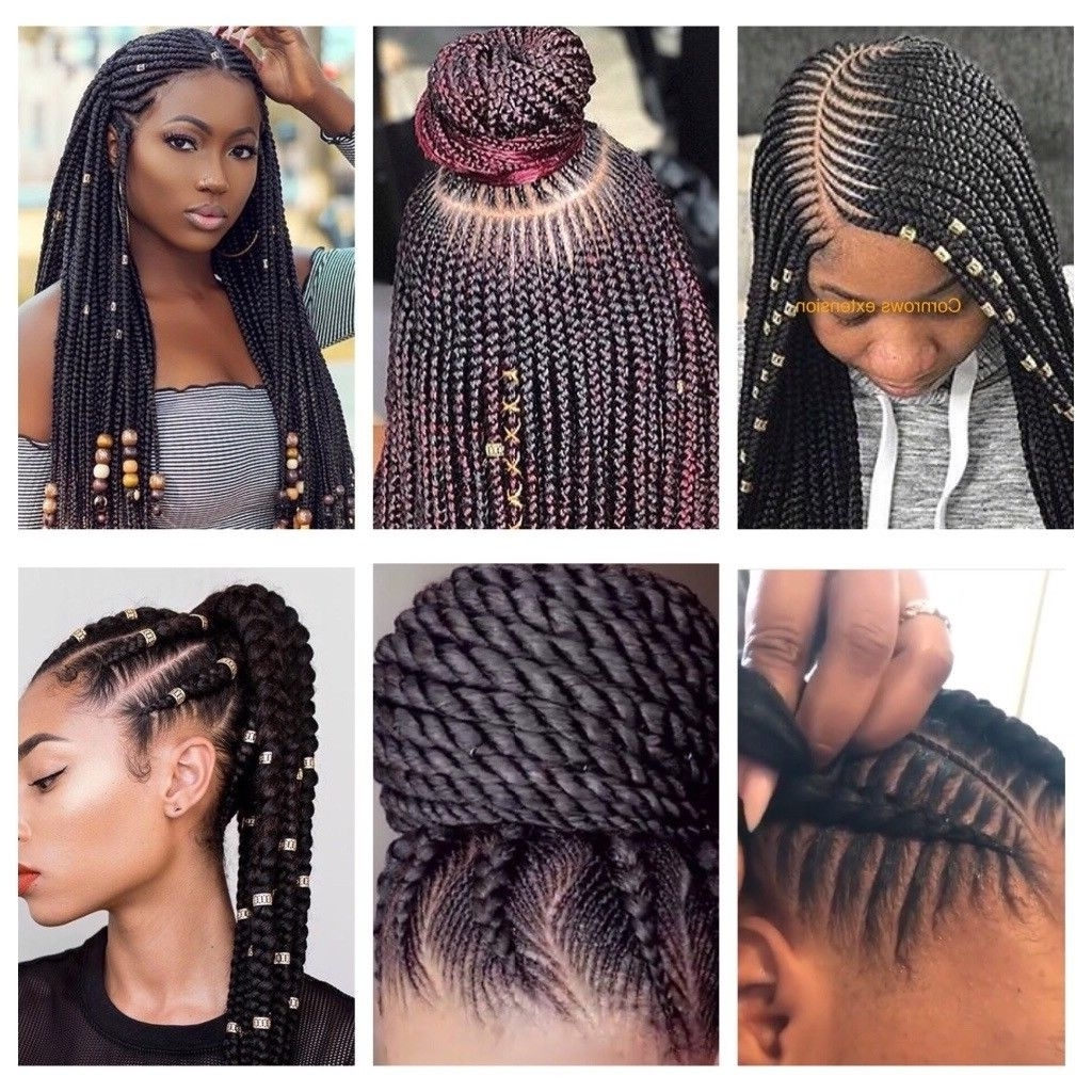 Most Recently Released Cornrows With A Twist With European/asian/afro/caribean Hair Braiding, Box Braids, Cornrows (View 13 of 15)