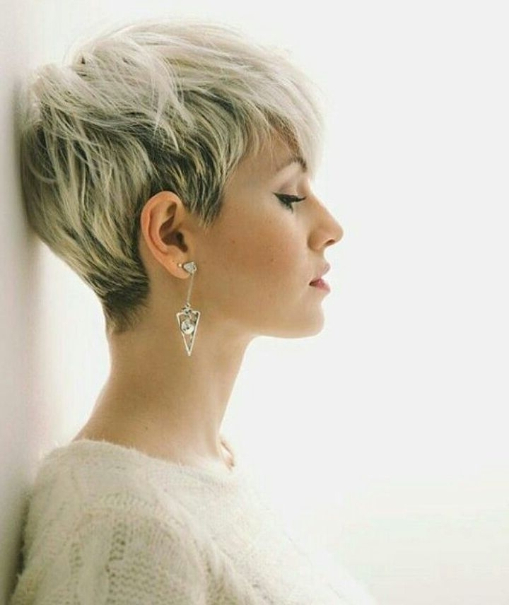 Most Recently Released Disconnected Blonde Balayage Pixie Haircuts Regarding 10 Latest Pixie Haircut Designs For Women – Short Hairstyles  (View 8 of 15)