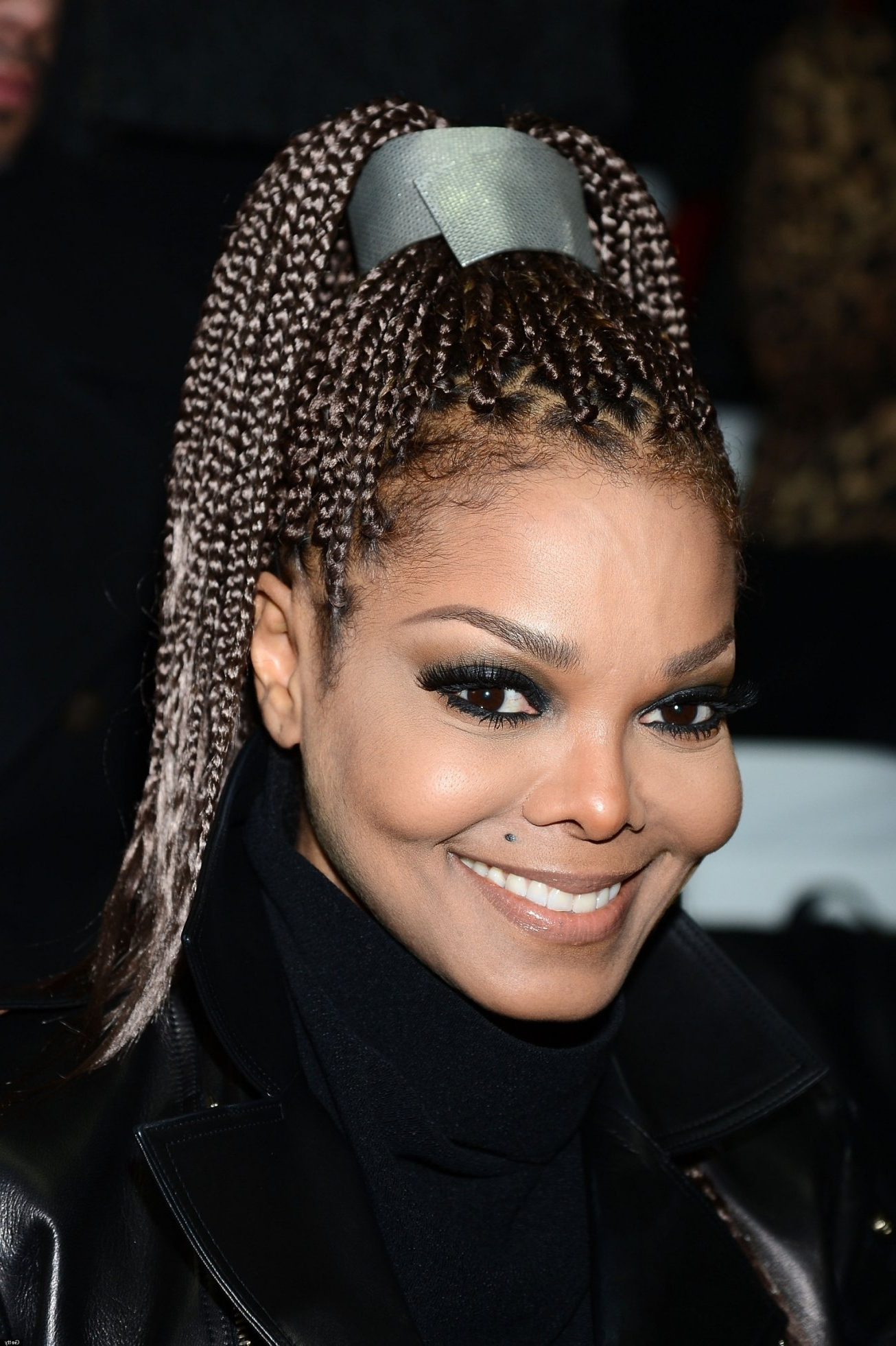 Most Recently Released Poetic Justice Braids Hairstyles Within Janet Jackson 'poetic Justice' Braids Make A Comeback At Milan With (View 9 of 15)