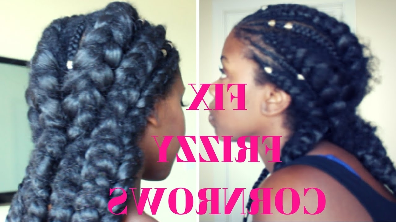 Most Recently Released Revamped Braided Ponytail In How To Repair Frizzy Cornrows – Youtube (View 11 of 15)