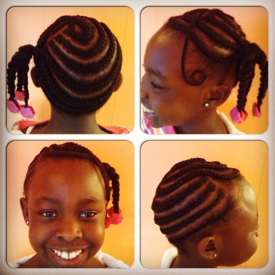 Most Recently Released Side Ponytail Braids With A Twist For Braided Side Ponytail With Two Strand Twists With Hot Pink Sweet Pea (View 12 of 15)