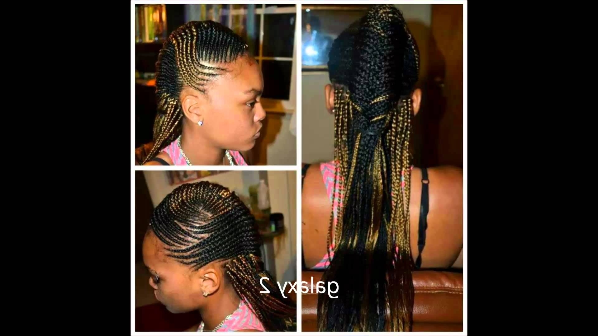 Most Recently Released Zimbabwean Braided Hairstyles With Regard To Galaxy Hair Style (that's The New Hair Style) Call (240 355 (View 6 of 15)