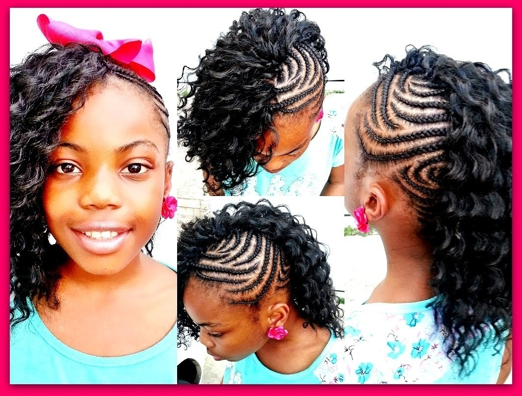 Most Up To Date Braided Hairstyles With Curly Weave Regarding Amazing Braided Mohawk With Curly Weave Best Simple Best Of Curly (View 9 of 15)
