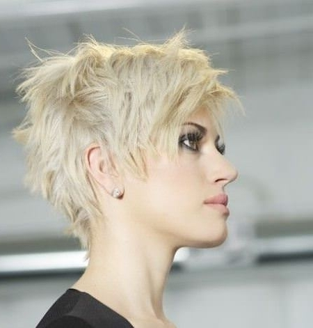 Most Up To Date Choppy Pixie Fade Haircuts Inside 20 Choppy Pixie Cuts (View 10 of 15)