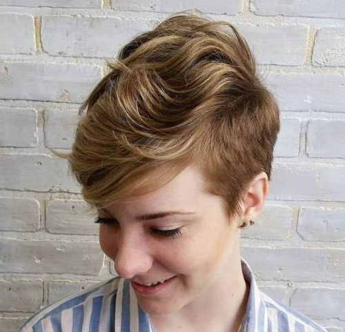 Most Up To Date Choppy Pixie Fade Haircuts With Regard To 22 Hottest Easy Short Haircuts For Women – Pretty Designs (View 11 of 15)