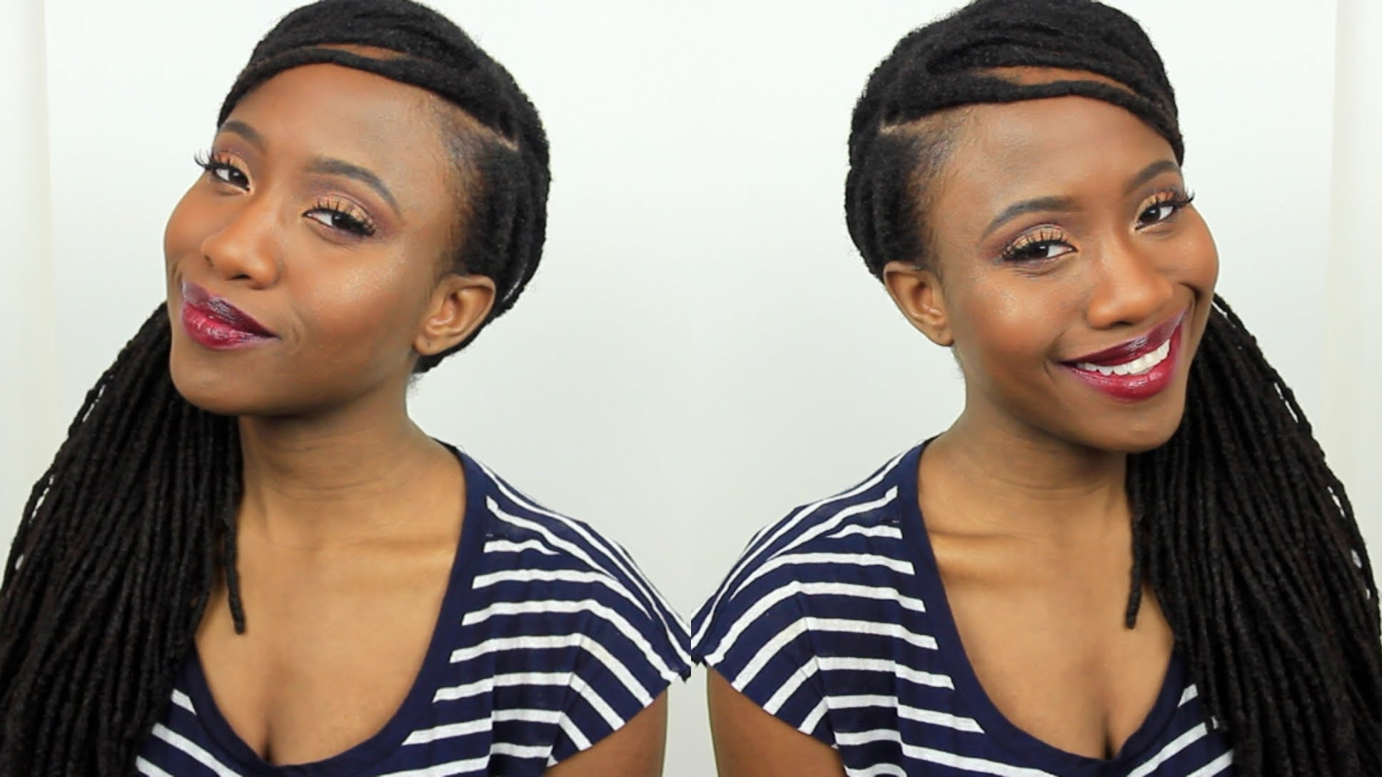 Most Up To Date Cornrows Hairstyles For Receding Hairline Throughout How To Cover Up & Fill In Thinning Edges & Hairline + Loc Style (View 11 of 15)