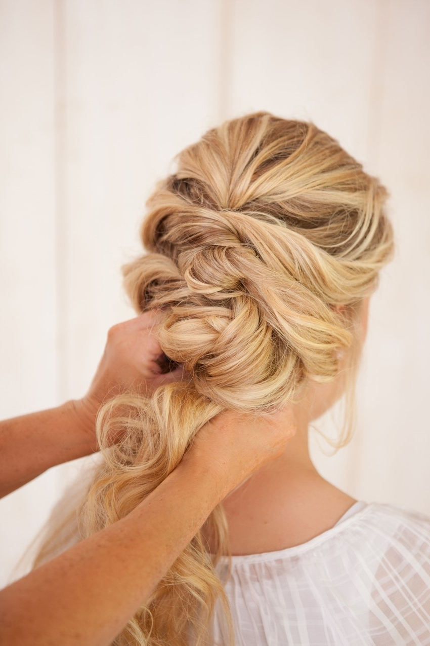 Most Up To Date Fancy Twisted Updo Hairstyles Intended For Diy Fancy French Twist Bridal Updo – Chic Vintage Brides : Chic (Gallery 10 of 15)