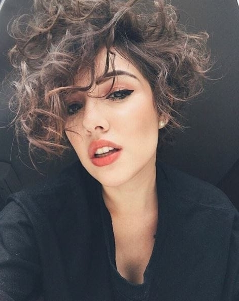 Most Up To Date Long Curly Pixie Haircuts With Pixie Cut For Curly Hair: Instagram's Most Stylish Looks (View 9 of 15)
