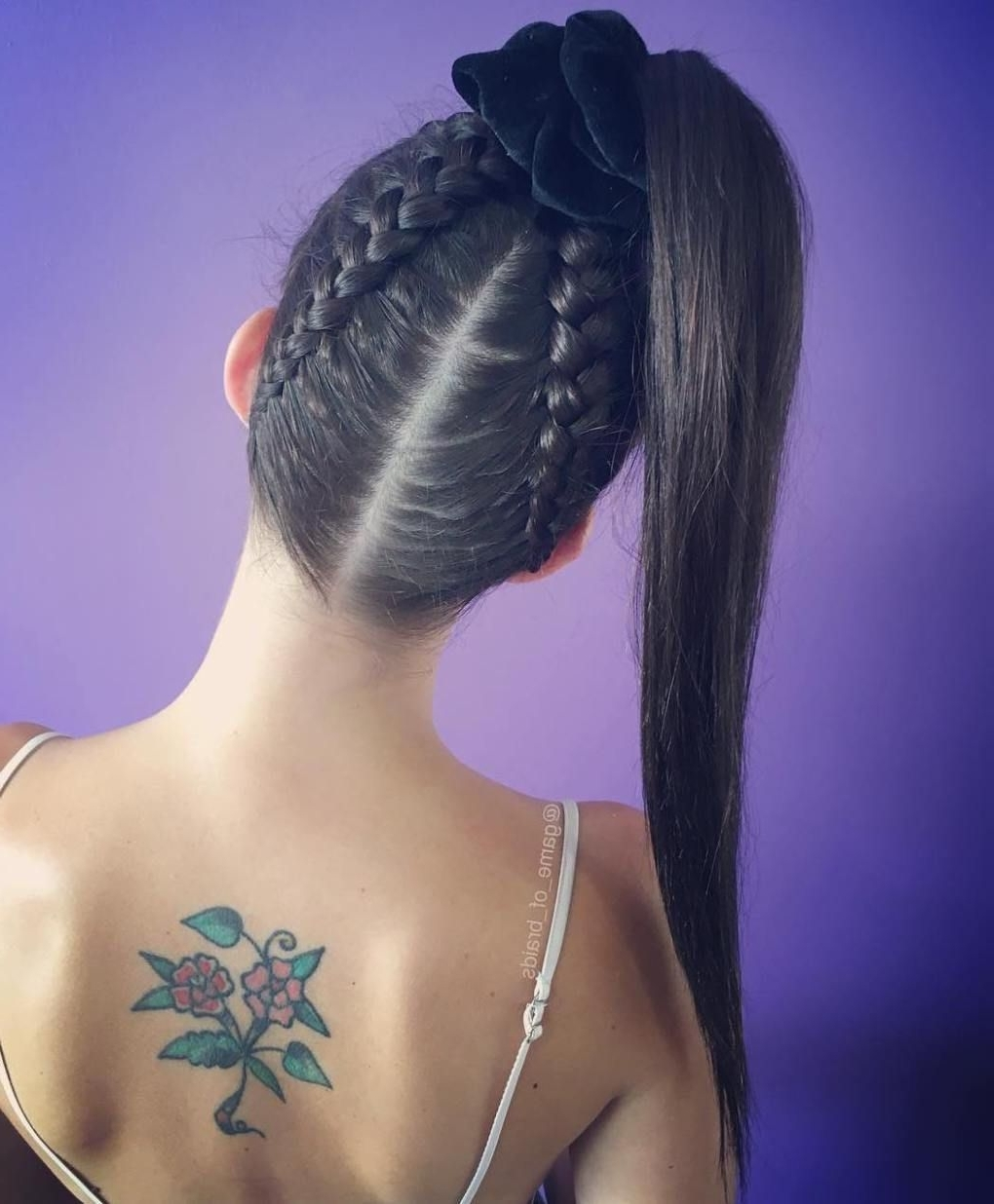 Most Up To Date Reverse Braid And Side Ponytail In Braided Ponytail Ideas: 40 Cute Ponytails With Braids (View 3 of 15)