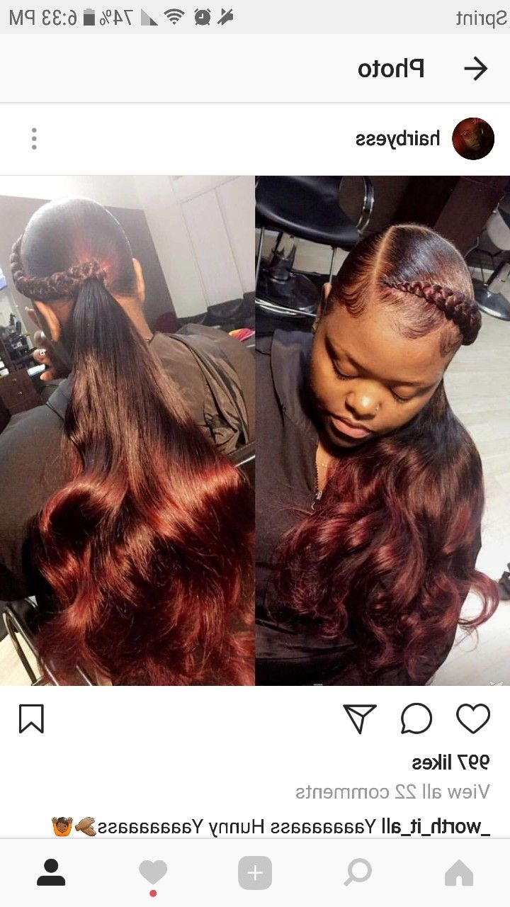[%most Up To Date Sculptural Punky Ponytail Braids With Regard To P I N T E R E S T ] : Wavykiara | Hair We Go Again | Pinterest|p I N T E R E S T ] : Wavykiara | Hair We Go Again | Pinterest Pertaining To Most Up To Date Sculptural Punky Ponytail Braids%] (View 14 of 15)