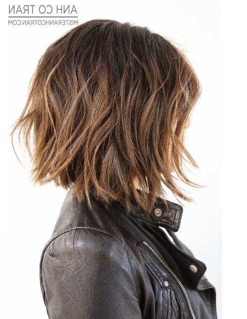 Most Up To Date Shaggy Pixie Haircuts With Balayage Highlights In 15 Shaggy Bob Haircut Ideas For Great Style Makeovers! – Popular (View 10 of 15)