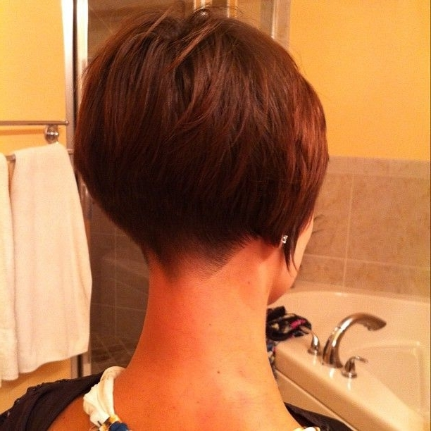 Most Up To Date Stacked Pixie Haircuts With V Cut Nape Intended For 144 Best Love The Hair Images On Pinterest (View 7 of 15)