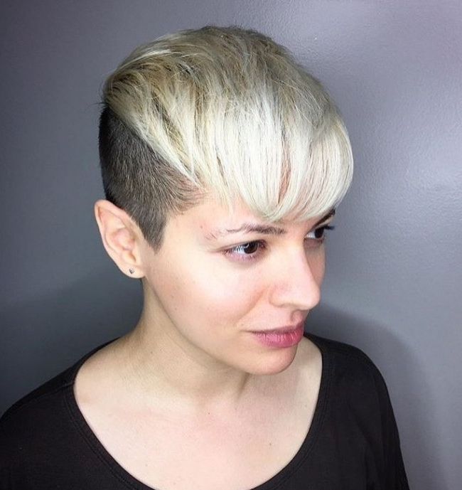 Most Up To Date Undercut Pixie In Hair Inspiration (View 8 of 15)