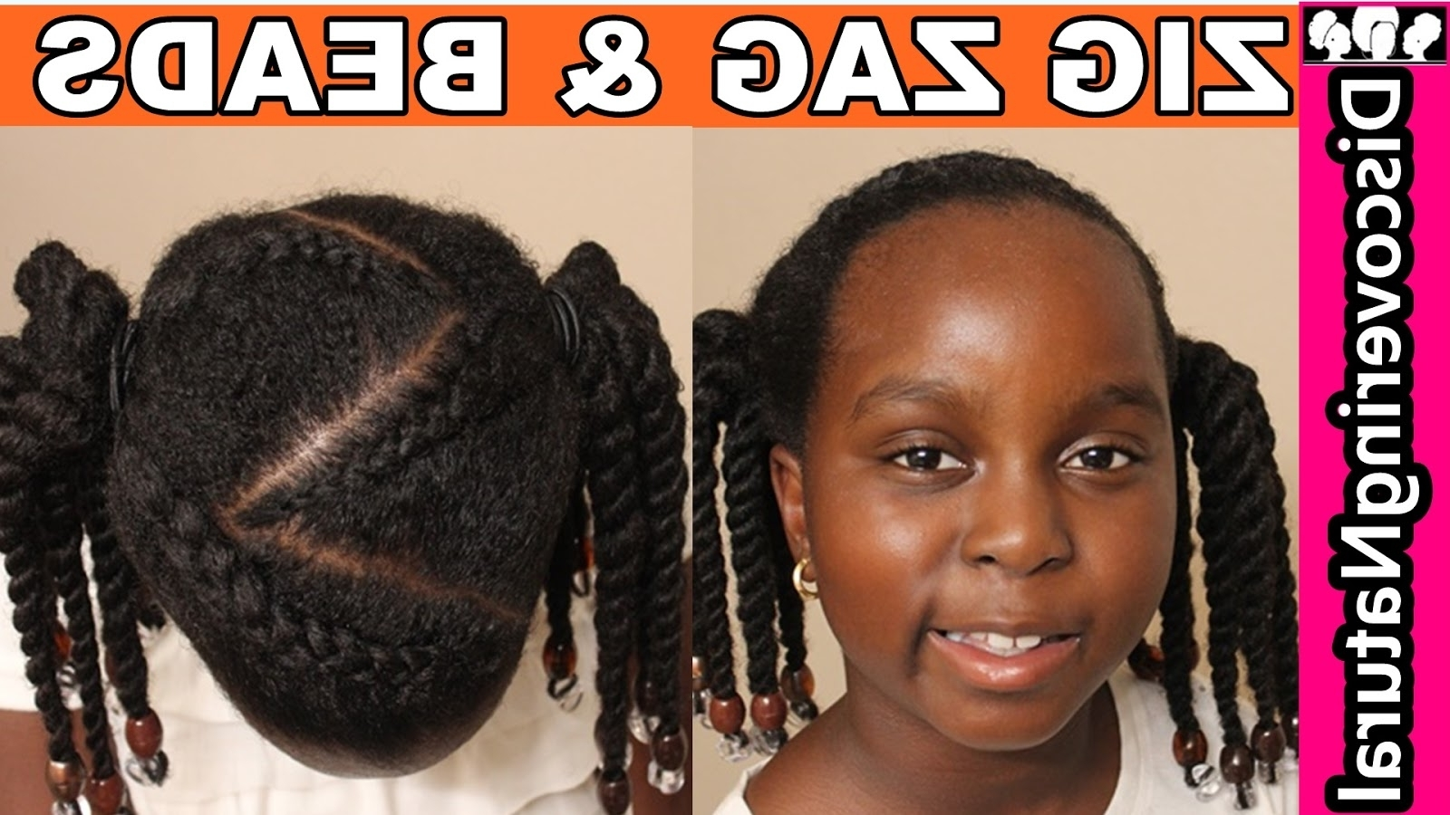 Most Up To Date Zig Zag Cornrows Hairstyles Regarding Discoveringnatural: How To Do Zig Zag Cornrows & Beads + 2 Options (View 8 of 15)