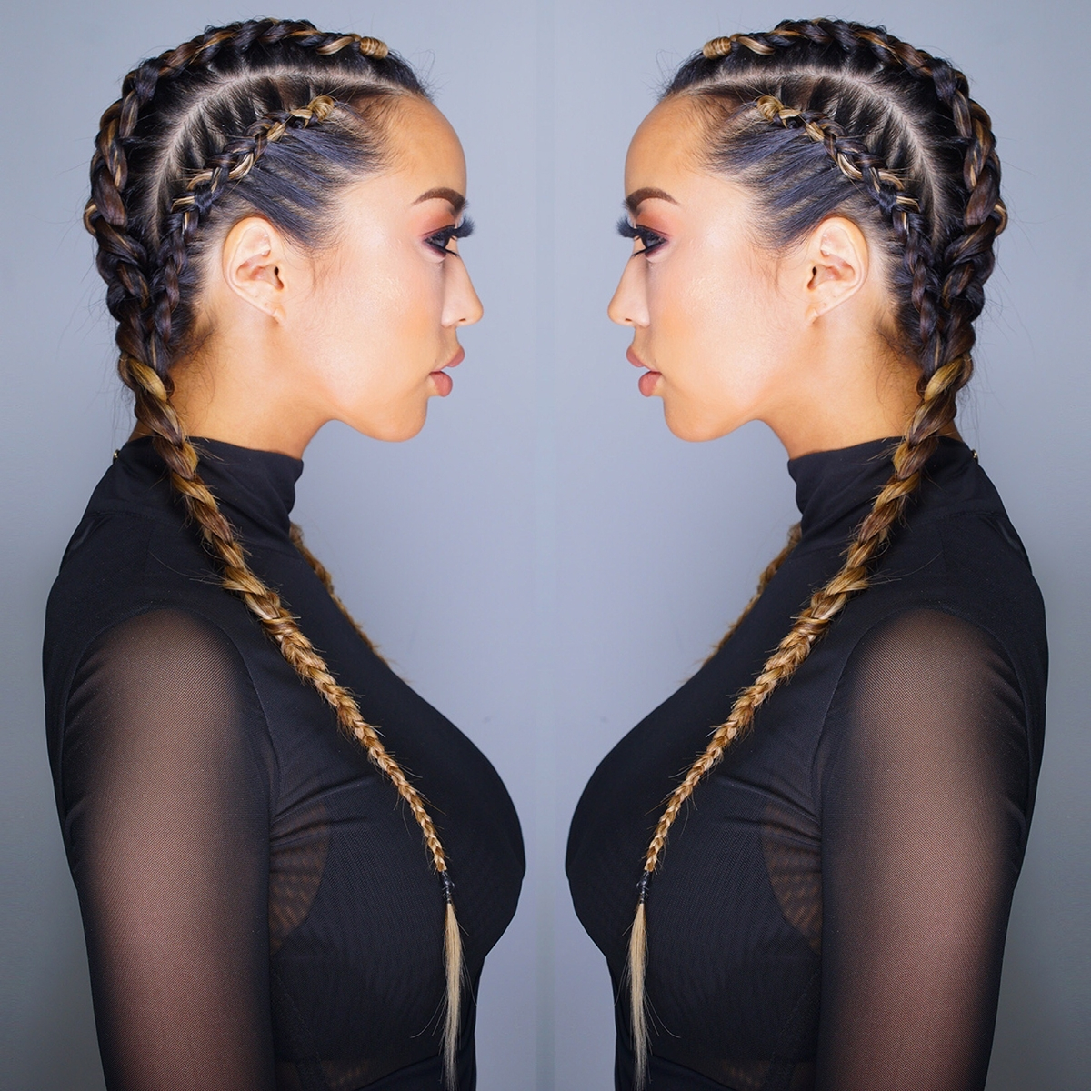 My Ciin In Preferred Intricate Boxer Braids Hairstyles (View 7 of 15)