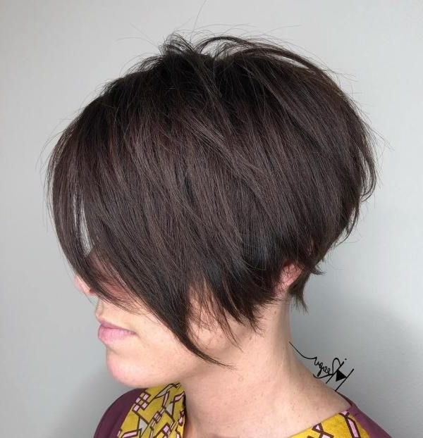 My Style In Recent Angled Pixie Bob Haircuts With Layers (View 3 of 15)