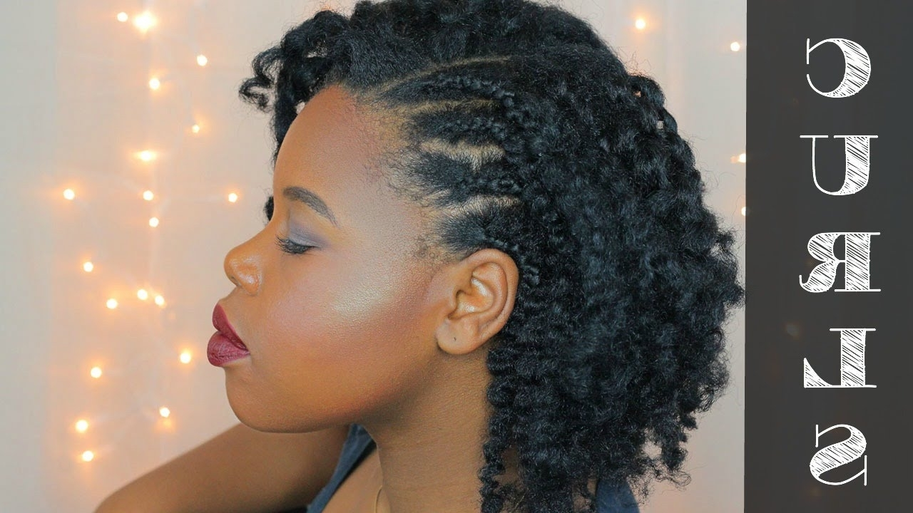 Natural Hair Style (View 11 of 15)