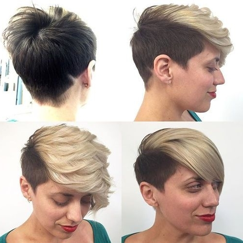 Natural Love Pertaining To Latest Two Tone Pixie Haircuts (View 10 of 15)