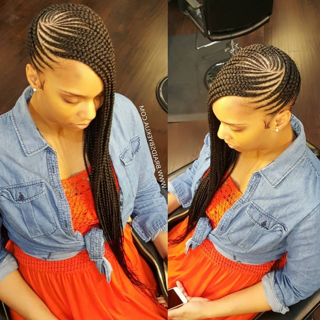 Newest Braided Hairstyles Without Edges For Pin Ni Robbin Holloway Sa Braids (View 11 of 15)