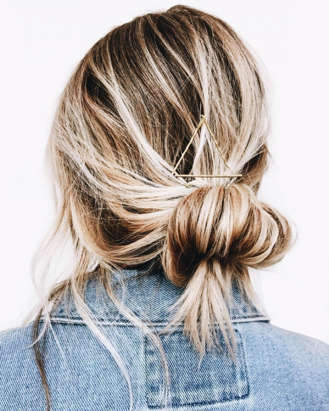 Newest Casual Bun With Highlights In Low, Messy Bun – Style (View 11 of 15)