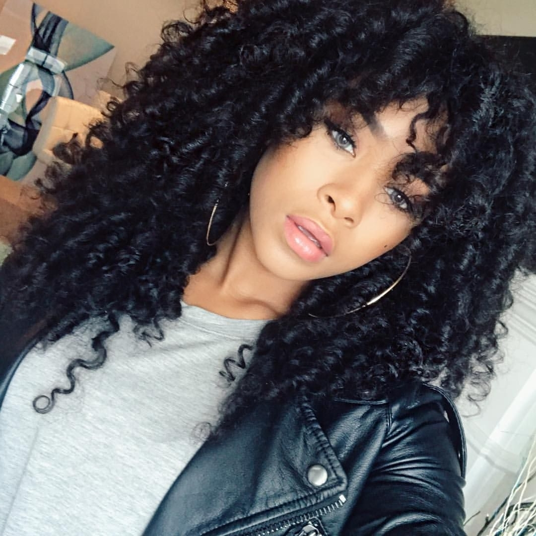 Featured Photo of Curly Hairstyle With Crochet Braids