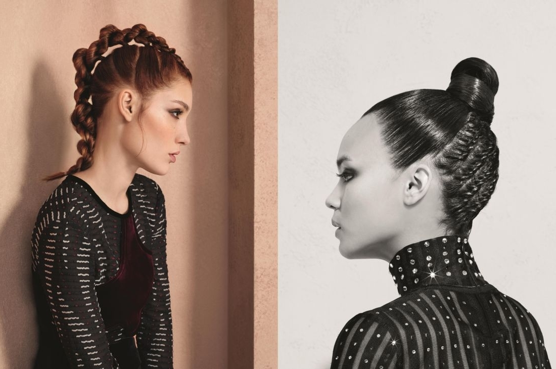 Newest Fiercely Braided Hairstyles With Fierce Braided Hairstyles: Braided Bun Vs (View 1 of 15)
