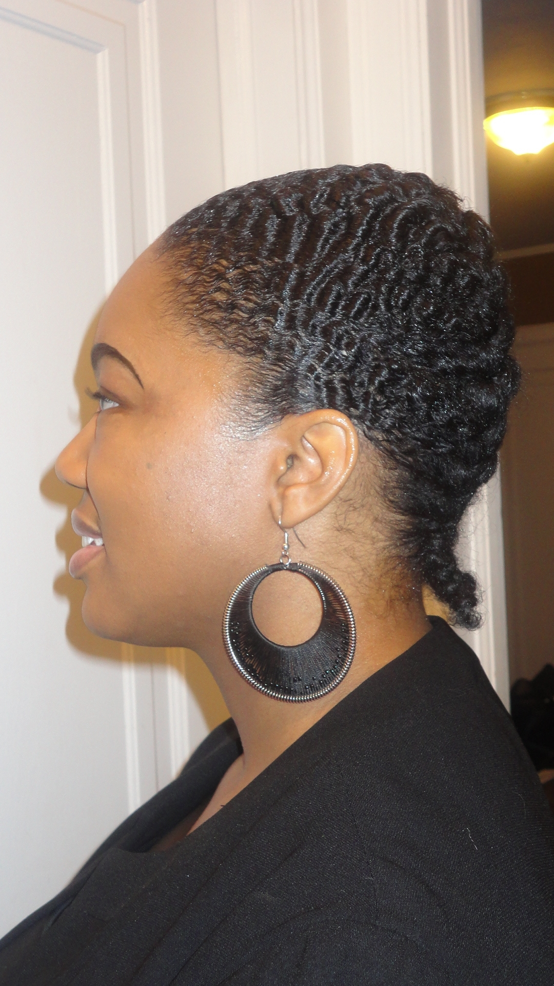 Newest French Braid Hairstyles For Black Hair Within French Braids On Two Year Old Natural Hair – Thirstyroots: Black (View 10 of 15)