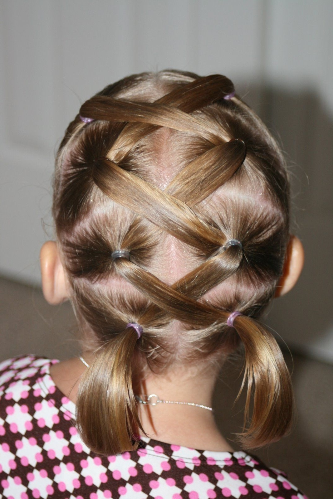[%Newest Lattice Weave With High Braided Ponytail Inside Img 3804] | Hair | Pinterest | Hair Style, Kid Hairstyles And|Img 3804] | Hair | Pinterest | Hair Style, Kid Hairstyles And Intended For Well Known Lattice Weave With High Braided Ponytail%] (View 1 of 15)