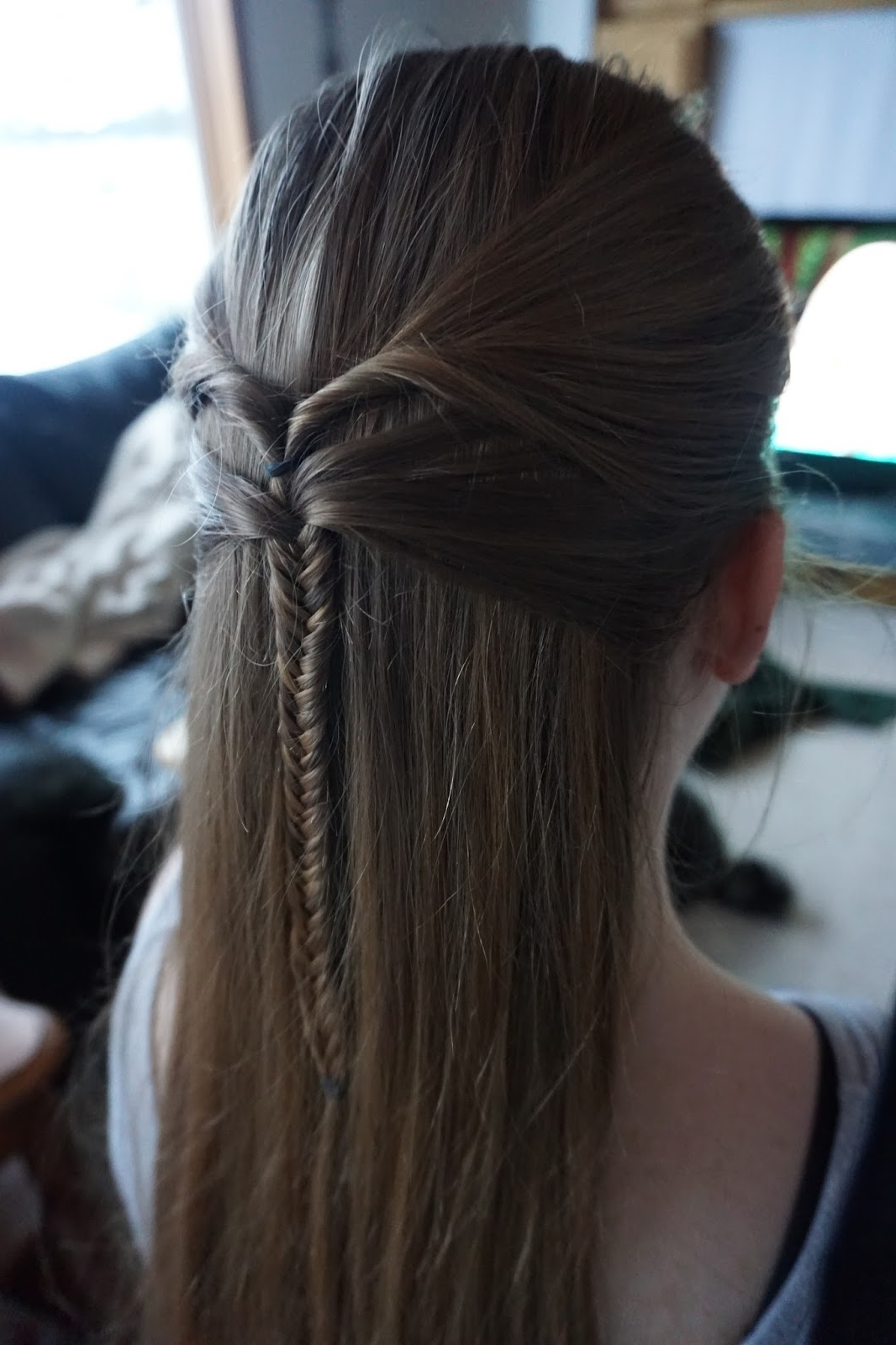 Newest Zipper Braids With Small Bun Pertaining To Braids, Twists, Buns, And More (View 8 of 15)