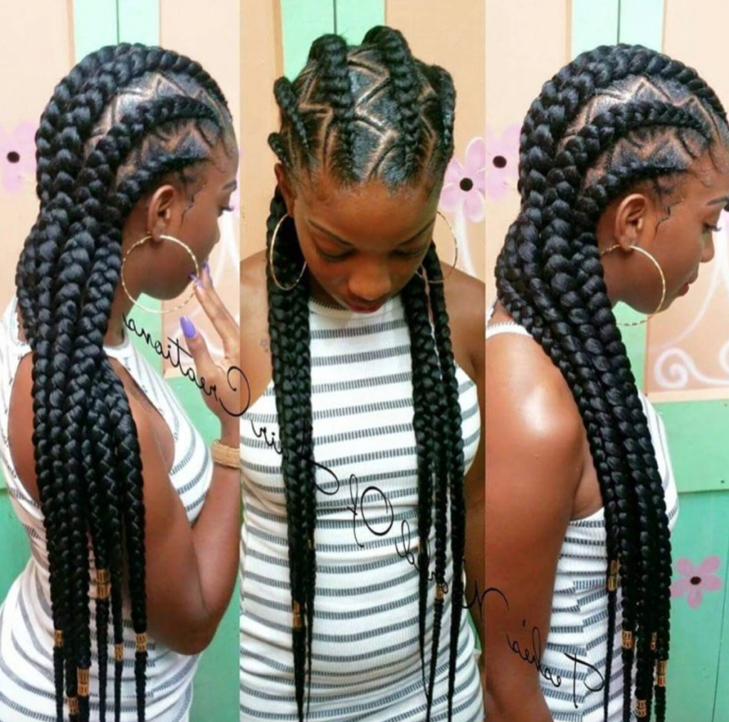 Now These 3 Corn Row Styles Is What We Call 'hair Goals' – Zumi For Most Up To Date Cornrows Hairstyles With Braids (View 14 of 15)