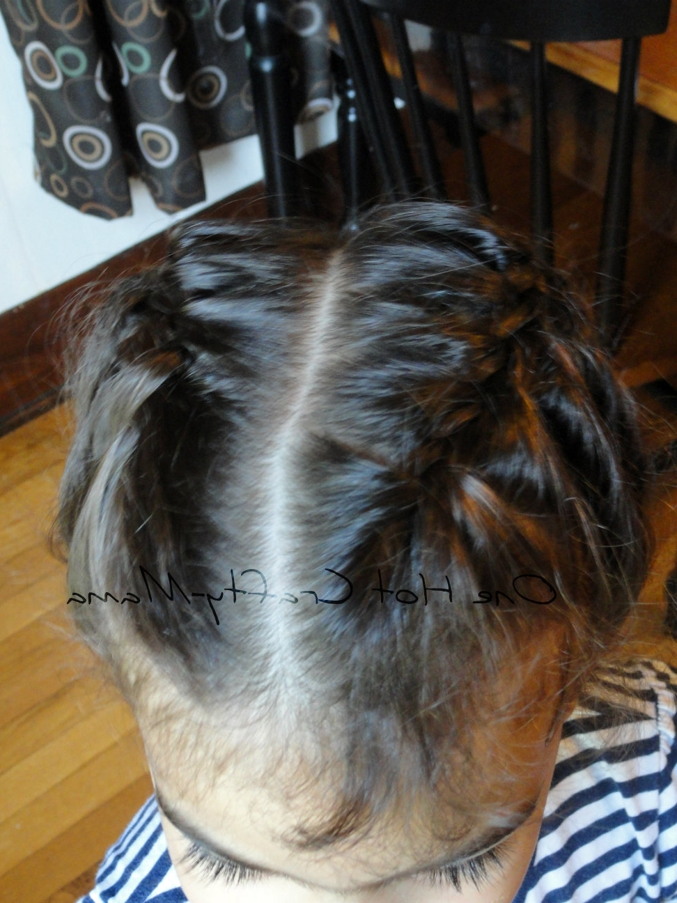 One Hot Crafty Momma: Two Braids Into One In Famous Two Braids Into One (View 10 of 15)