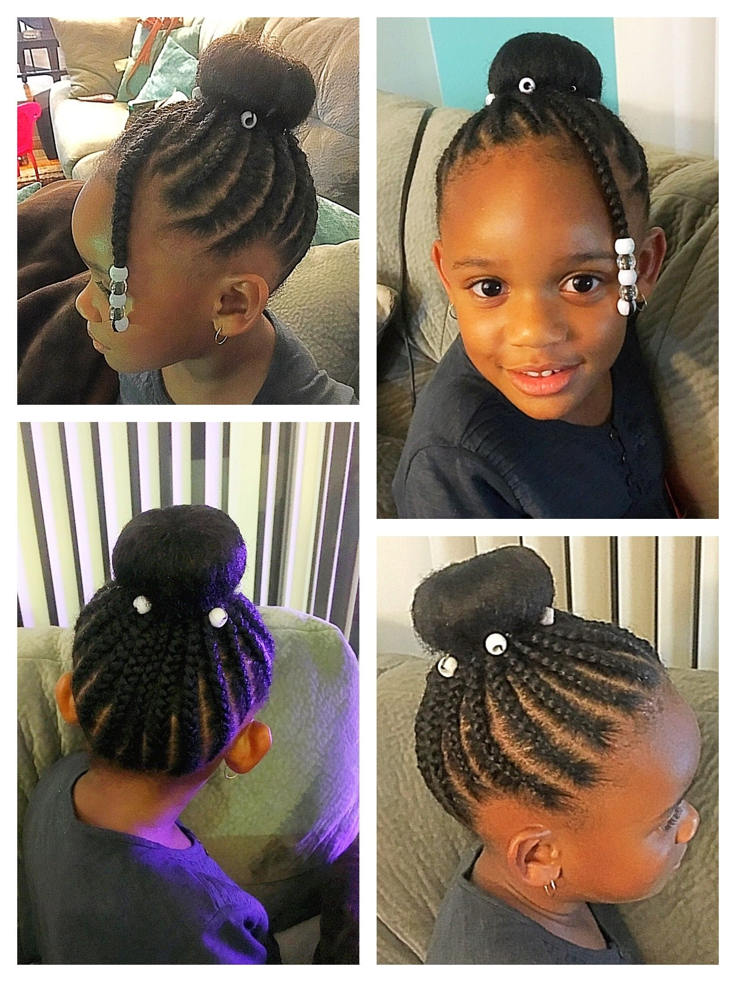 Pinjenelle Robinson (Smartgalkaris Jtr) On Kid Hairstyles For Intended For 2017 Cornrows Hairstyles For Natural African Hair (View 13 of 15)