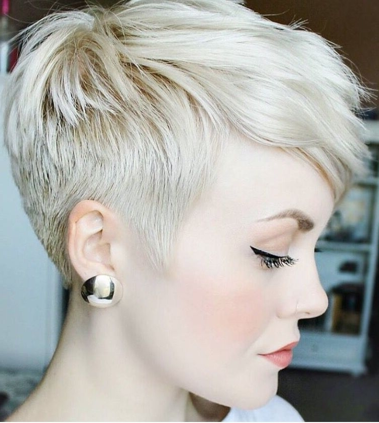 Pinte… Regarding Famous Tousled Pixie With Undercut (View 13 of 15)