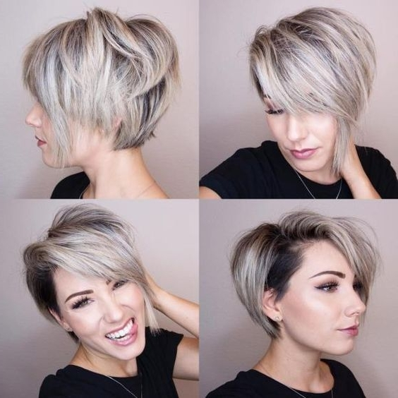 Featured Photo of Pixie Bob Haircuts With Temple Undercut